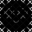 Teeth Spacing Emoticon Emoji Emoticon Icon