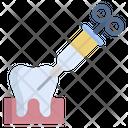 Teeth Syringe Treatment Teeth Treatment Icon
