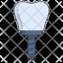 Teeth Transplant Crown Transplant Icon