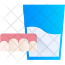 Teeth Water Glass Icon