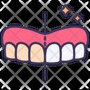 Teeth Dental Whitening Icon