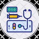 Tele Medicine Doctor Health Icon