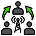 Communication Signal Connection Icon