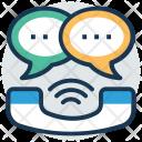 Telecommunication Helpline Call Icon
