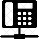 Telecommunication Sharing Network Icon