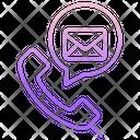 Icommunications Telecommunication Communication Icon