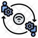 Communication Connection Contact Icon