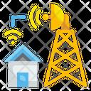 Telecommunication House Radar Icon