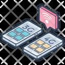 Telecommunication Technology Mobile Technology Network Technology Icon