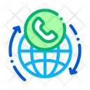 Online Telecommunications Voip Icon