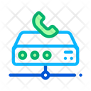 Digital Telecommunications Voip Icon
