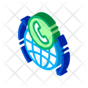 Online Telecommunication Communication Icon