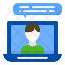 Teleconference Business Connection Icon