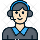 Telemarketer Icon