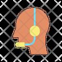 Telemarketerm Telemarketer Customer Support Icon