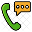 Telemarketing Telesales Office Phone Icon