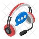 Telemarketing Call Center Customer Services Icon