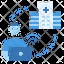 Telemedicine Hospital Service Icon