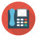 Telephone Fax Landline Icon