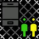 Customer Mobilephone Telephone Icon