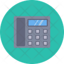 Telephone Support Help Line Icon