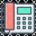 Communication Fax Landline Phone Icon