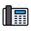 Landline Telephone Receiver Icon