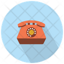 Old Vintage Telephone Telephone Phone Icon
