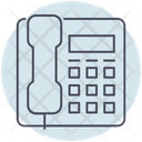 Business Telephone Contact Icon