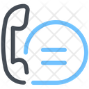 Telephone Call Chat Icon