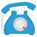 Telephone Landline Talk Icon