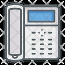 Telephone Call Phone Set Icon
