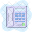 Contact Support Telephone Icon