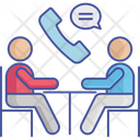 Telephone Business Meeting Meeting Icon