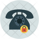 Telephone Call Secure Icon