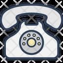 Contact Us Digital Phone Landline Icon