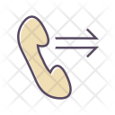Telephone Out Call Icon