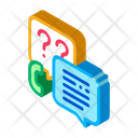 Telephone Assistance Service Icon