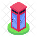 Phone Booth Telephone Booth Cabin Icon