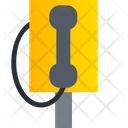 Telephone Booth Phone Booth Public Phone Icon