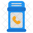 Telephone Booth Call Booth Telephone Box Icon