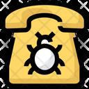 Telephone Bug Icon