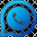 Telephone Call Finance Global Icon