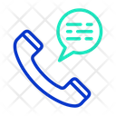 Telephone Chatm Telephone Chat Call Chat Icon
