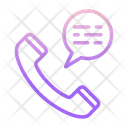 Telephone Chat Icon