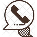 Telephone communication Icon