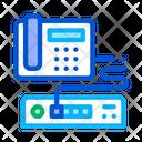 Home Telephone Video Icon