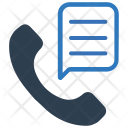 Business Conversation Phone Icon