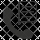 Telephone Conversation Call Icon
