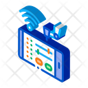 Telephone Settings Via Icon